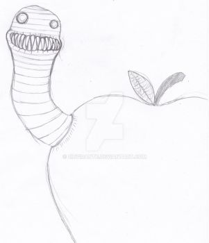 A Worm in the Apple by ZibVirante