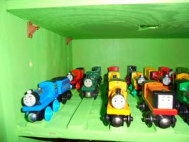 My Train Shelves Picture 5 by Eli-J-Brony