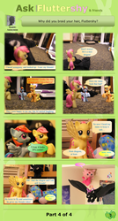 Ask Brushable Fluttershy - Q7 - Mane: Part 4 of 4 by dutchscout
