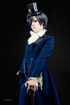 Ciel Phantomhive: Aristocrat of Evil by MissScaryKitty