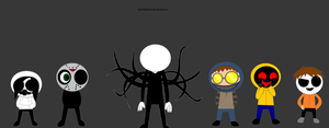 Slender Insurgency by SCP-096-2