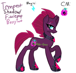 MLP Tempest Shadow (Magicverse) by Mobian-Gamer