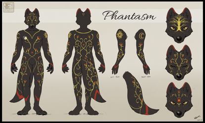 Phantasm Ref Sheet by ashkey