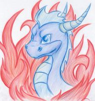 Spyro the Dragon by Fyre-Dragon