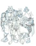 Captain Carrot and Friends by Joemand