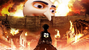 Attack on GRUvy by MrSneakyPhotoShop