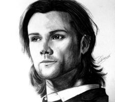 Sam Winchester by Schoerie