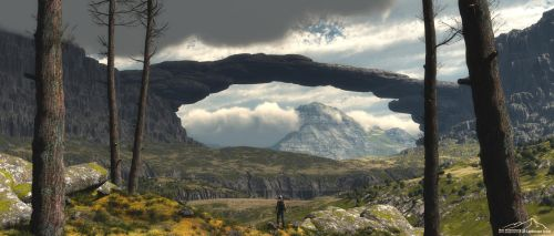 Just Another landscape prt. 12 by 3DLandscapeArtist