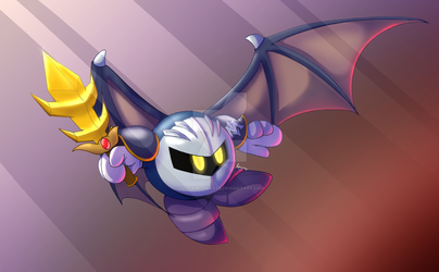 sir meta knight by ClockworkArts
