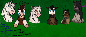 Ama's Blind Date Herd Reaction by DragonGirl75
