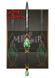 [CLOSED] Design Adopt Weapon - 27 by MhaxiR