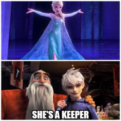 She's definitely a keeper by ohmygoskjackfrost