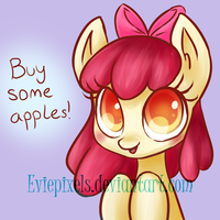 Buy Some Apples! by BunniniArt