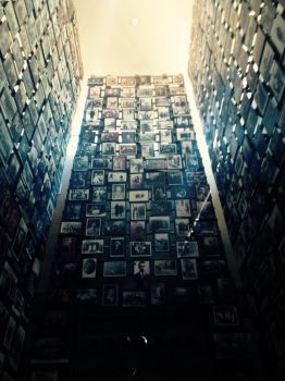 Holocaust Museum, Wall of Photos by Bluemonster140