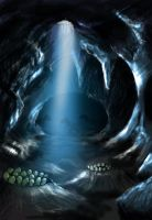 Jurassic Park - Raptor's Cave by Borsio
