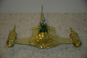 Gold Naboo Royal Starfighter 2 by Panzer-13