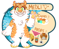 MEDLI REF | new! by californiacoyote