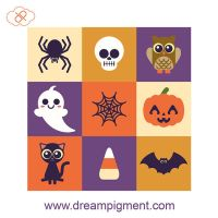 Halloween Icons by DreamPigment