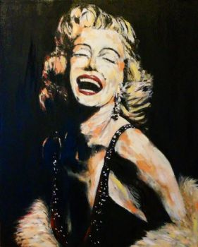 Miss Monroe by artedloudly