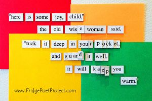 The Daily Magnet #252 by FridgePoetProject