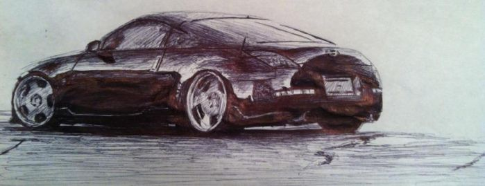 Nissan 350Z by Ness1000