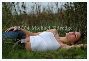 Megan in repose I by livingfiction