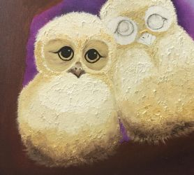 The Owls - WIP by MelGama