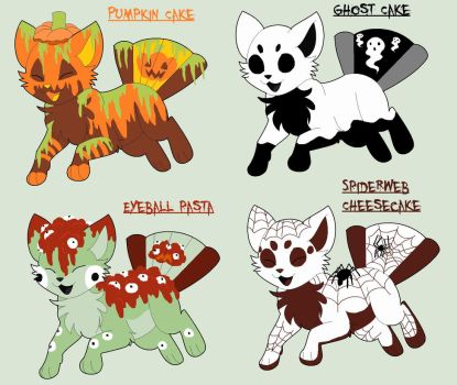 Halloween Shibafan Adopts OPEN 2 LEFT by xXXMizanXXx