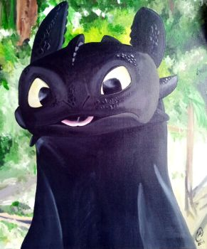 Toothless by Spidey0107