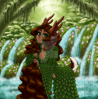 Goddess of the Forest by ValkyrieVale