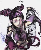 treet fighter 4 - Juri by kaiser-nagai