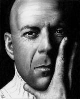 Bruce Willis - Hard Shadows by Doctor-Pencil