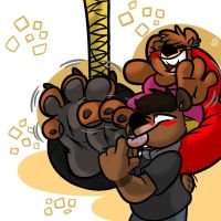 (AT) We Burrs!  by drawydoodles