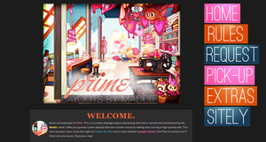 Prime's new layout // v.6 by maddieover