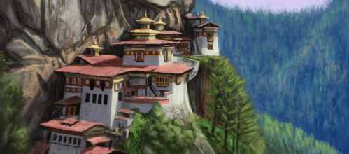 Tiger's Nest by MarkBulahao