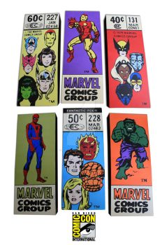 SDCC MARVEL CORNER BOXES by PLANETsTAtiC