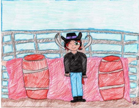 Criss Raging with the bull by Criss-Angel-Fans