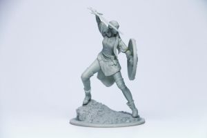 Eve Miniature 55mm 2 by HazardousArts