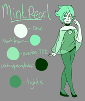 mint pearl for Katourd by faerie-daze