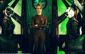 I am the Borg - (Widescreen variant) by Euderion