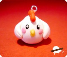 FIMO - chicken by buzhandmade
