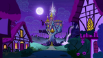Twilight's Castle (Night) by Awsomejosh13