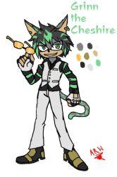 Grinn-The-Cheshire by arh-adrian17