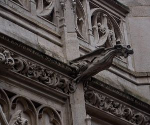 Gargoyle Stock 1 by Sheiabah-Stock