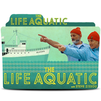 The Life Aquatic With Steve Zisso Folder Icon by bedobaho