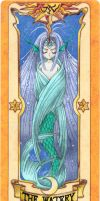 Clow Card -The Watery- Colored by RenjiAbaraiGR
