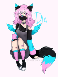 Dia Dia //2018 Human Form by NeonCandyLights
