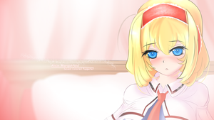 Blushing Alice by xndrive
