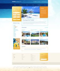 Travel holidays website by luqa