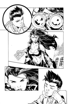Super Sons Issue 13 page 5 by aethibert